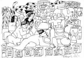 Minh họa: Phan Cẩm Thượng