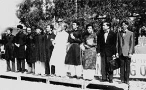 Một số giảng viên của Đông Kinh nghĩa thục. Ảnh: Tư liệu