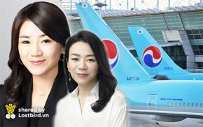 2 cô con gái cưng của Chủ tịch hãng Korean Air