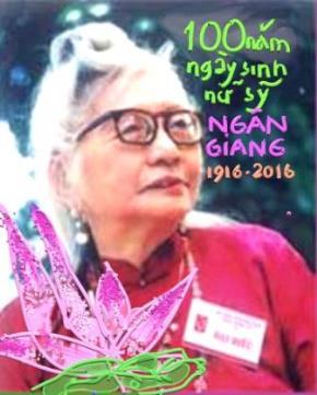 Trăm năm nữ sĩ Ngân Giang