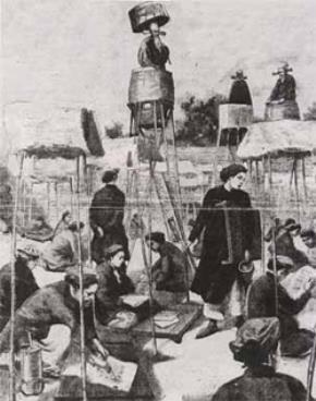 Một cảnh thi năm 1895 (tranh vẽ)