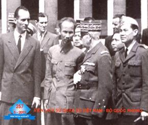 Chuyến thăm Pháp năm 1946 của Chủ tịch HCM- Một biểu hiện khát vọng hòa bình của nhân dân Việt Nam