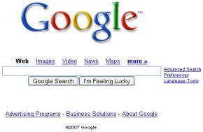 Google mất thế độc tôn