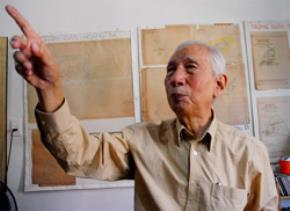Nhà nghiên cứu Nguyễn Đình Đầu cho rằng cách ghi trên bản đồ của Hội Địa lý quốc gia Mỹ ở Tây Sa (Paracel) là không khoa học. Ảnh: HTD