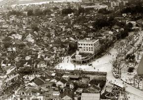 Quảng trường Đông Kinh Nghĩa Thục xưa