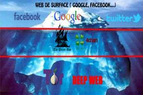 """Bạn biết gì về """"web đen"""", """"web nổi"""" và """"web chìm""""?"""