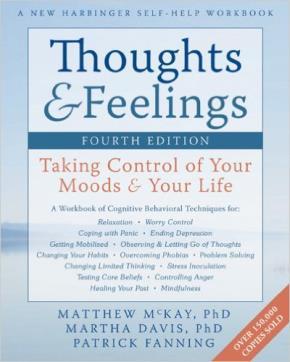 """Bìa cuốn """"Suy nghĩ và cảm xúc: Làm chủ tâm trạng và cuộc sống của bạn"""""""