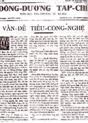 Ảnh hưởng của văn hóa phương Tây qua sự hiện diện của tờ báo