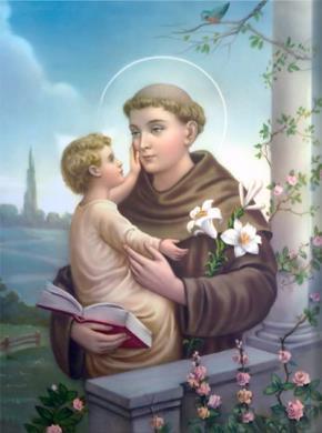 """Thánh Antôn Pađua - """"ông thánh hay làm phép lạ""""."""