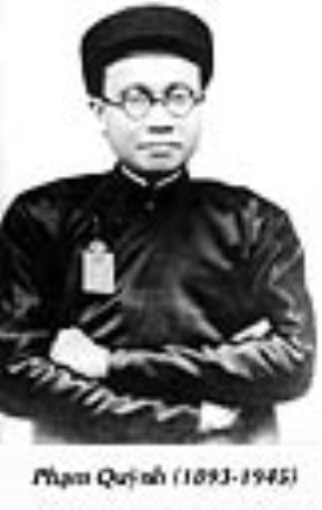 Giải Phan Châu Trinh tôn vinh nhà văn hóa Phạm Quỳnh