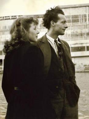Vợ chồng André Gorz lúc còn trẻ.