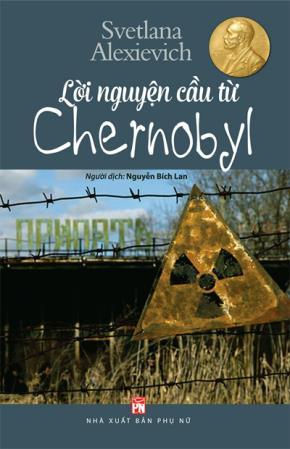 """Bìa sách """"Lời nguyện cầu từ Chernobyl"""""""