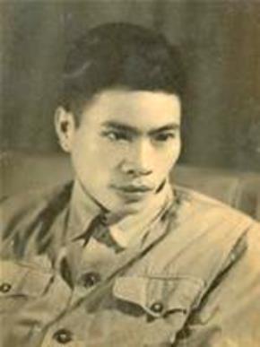 Nhà thơ Trần Dần, năm 28 tuổi. Ảnh: TL gia đình