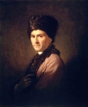 Chân dung Rousseau trong trang phục của người Armenia do Allan Ramsay vẽ năm 1766