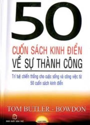 50 cuốn sách kinh điển về sự thành công