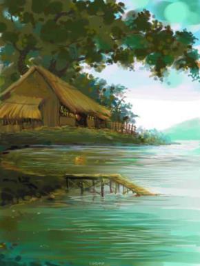 Tranh vẽ của Nguyễn Ðức Cường