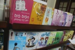 """Sách """"sến Tàu"""" ru ngủ giới trẻ Việt?"""