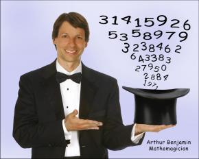 "Arthur Benjamin biểu diễn ""ảo thuật toán học"""
