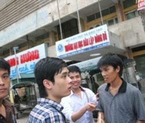 Sinh viên Trường Đại học dân lập Đông Đô