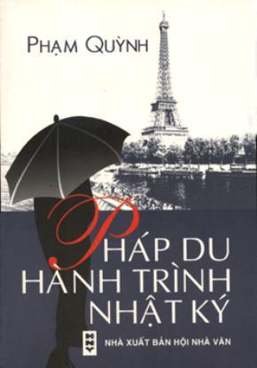 In lại Nhật ký đi Pháp của Phạm Quỳnh