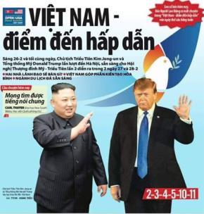 Đón chào Thượng đỉnh Mỹ - Triều