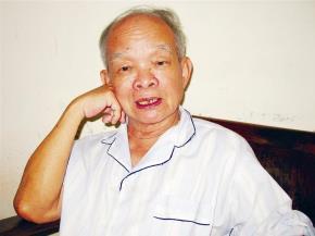 Nhà văn Nguyên Ngọc (Ảnh: Võ Văn Thành - TPO)