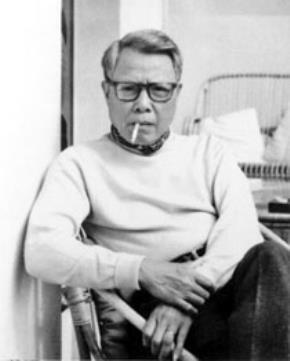 Hoạ sĩ Lê Phổ, ảnh đen trắng chụp thập niên 1970