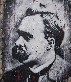 Triết gia Friedrich Nietzsche (1844-1900)