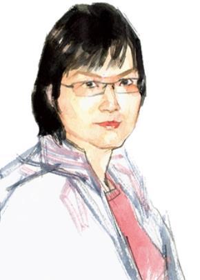 Tiến sĩ Nguyễn Thị Từ Huy - chân dung hội hoạ Hoàng Tường