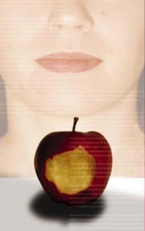 Quả táo sứt