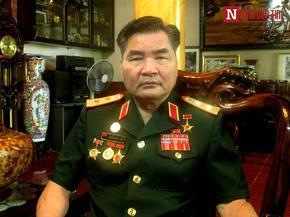 Anh hùng LLVTND, Trung tướng Phạm Xuân Thệ - Nguyên Tư lệnh Quân khu I (Ảnh: N.Minh)