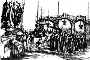 Lễ xướng danh những người thi đậu