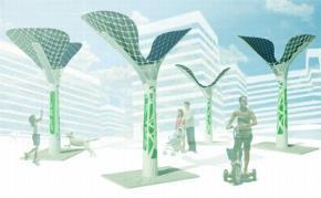 10 mẫu cây nhân tạo giảm ô nhiễm thành phố trong tương lai