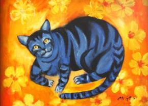 Mèo bắt chuột, tác giả Vĩnh Phối.