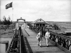 Cầu Hiền Lương xưa kia