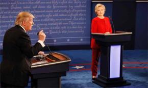 Tranh luận giữa hai ứng cử viên tổng thống