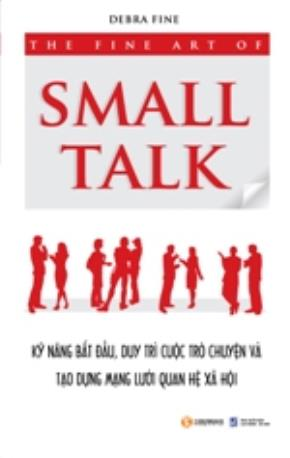 "Bìa cuốn sách ""The Fine Art of Small Talk"""