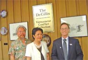 Bà Tôn Nữ Thị Ninh tại DeAnza College - California