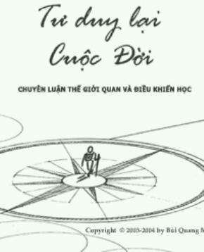 """Giới thiệu sách """"Tư duy lại cuộc đời"""""""
