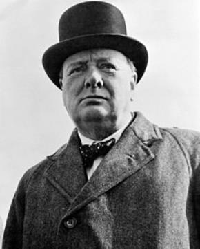 """Churchill """"sống oai hùng, chết giản dị"""""""