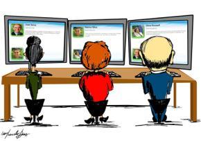Cách tranh luận online