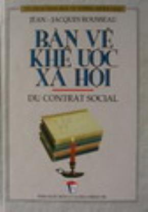 """Sách """"Bàn về khế ước xã hội"""""""