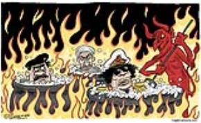 Thư Gadhafi gửi các bạn độc tài