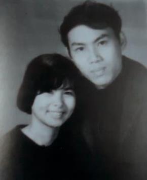 Lưu Quang Vũ- Xuân Quỳnh năm 1973