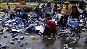 """Hình ảnh vụ """"hôi bia"""" đình đám tại Biên Hòa cách đây hơn một năm"""