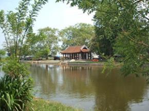 Toàn cảnh chùa Keo, ảnh: Phạm An Phú
