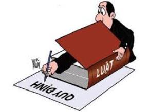 Về việc ban hành một số bộ luật