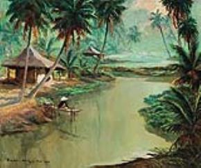 Phong cảnh Việt Nam (Henri Mège)