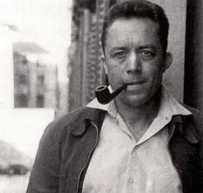 Triết gia hiện sinh Pháp Albert Camus (1913-1960)