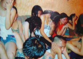 Minh họa: Các cô gái sau một bữa sinh nhật kiểu VIP